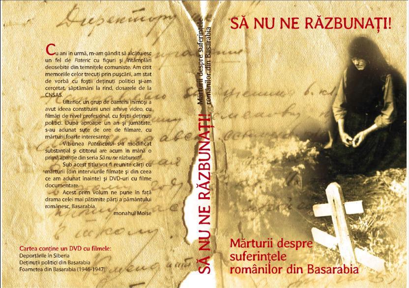 """""""Să nu ne răzbunați"""" – lansare de carte și vizionare de film la Brăila și Galați"""