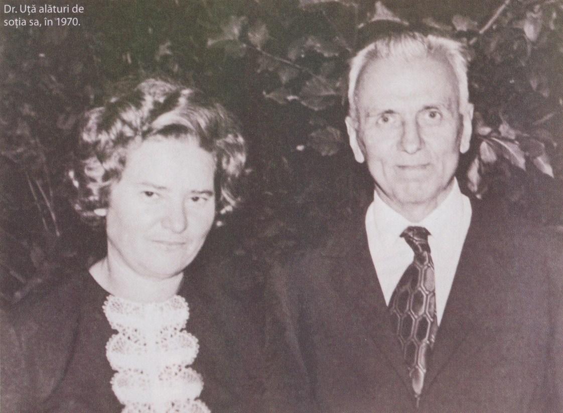 Dumitru Uță și soția sa Veronica în anul 1970
