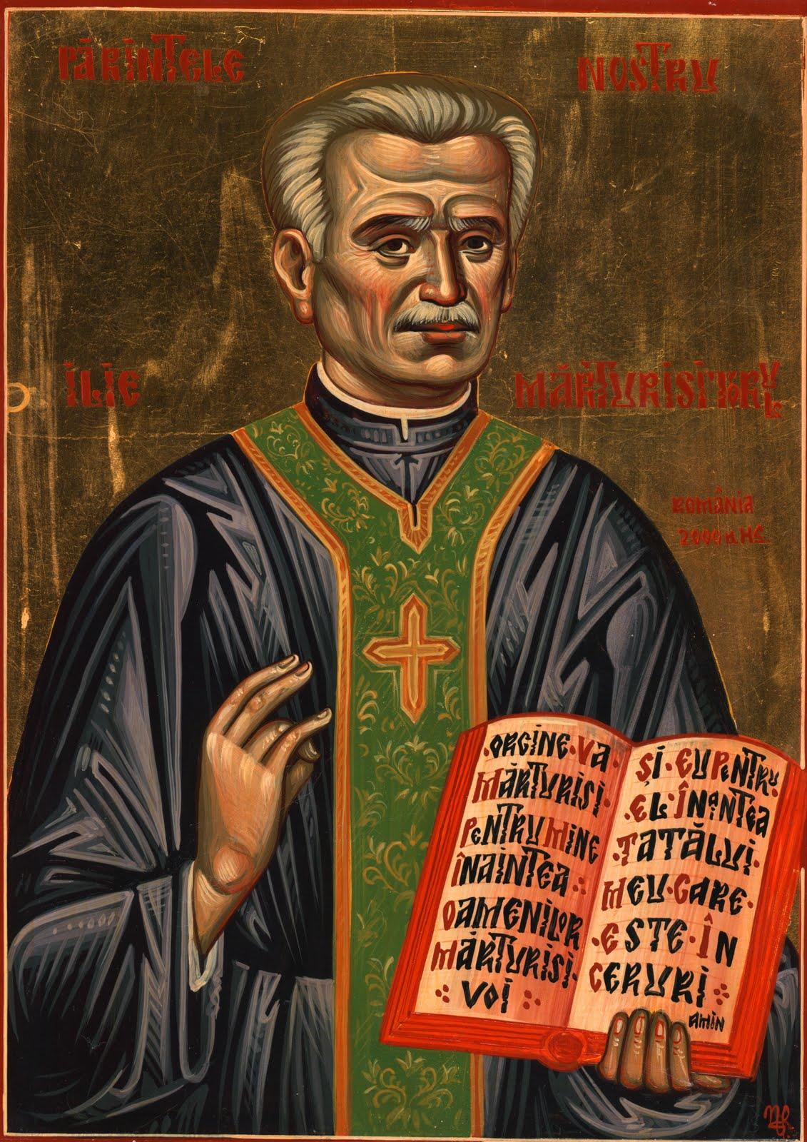 Părintele Ilie Lăcătușu