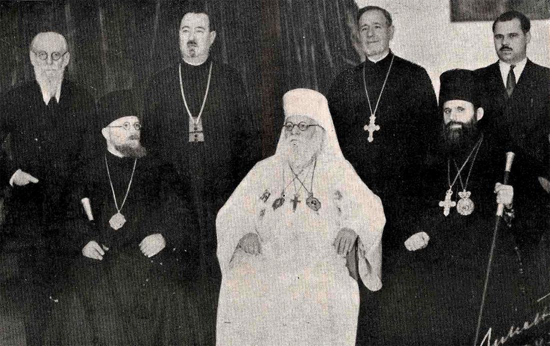 Episcopul Nicolae Popovici în delegație la Moscova