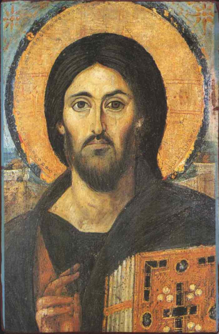 Iisus Hristos Pantocrator (Sinai)